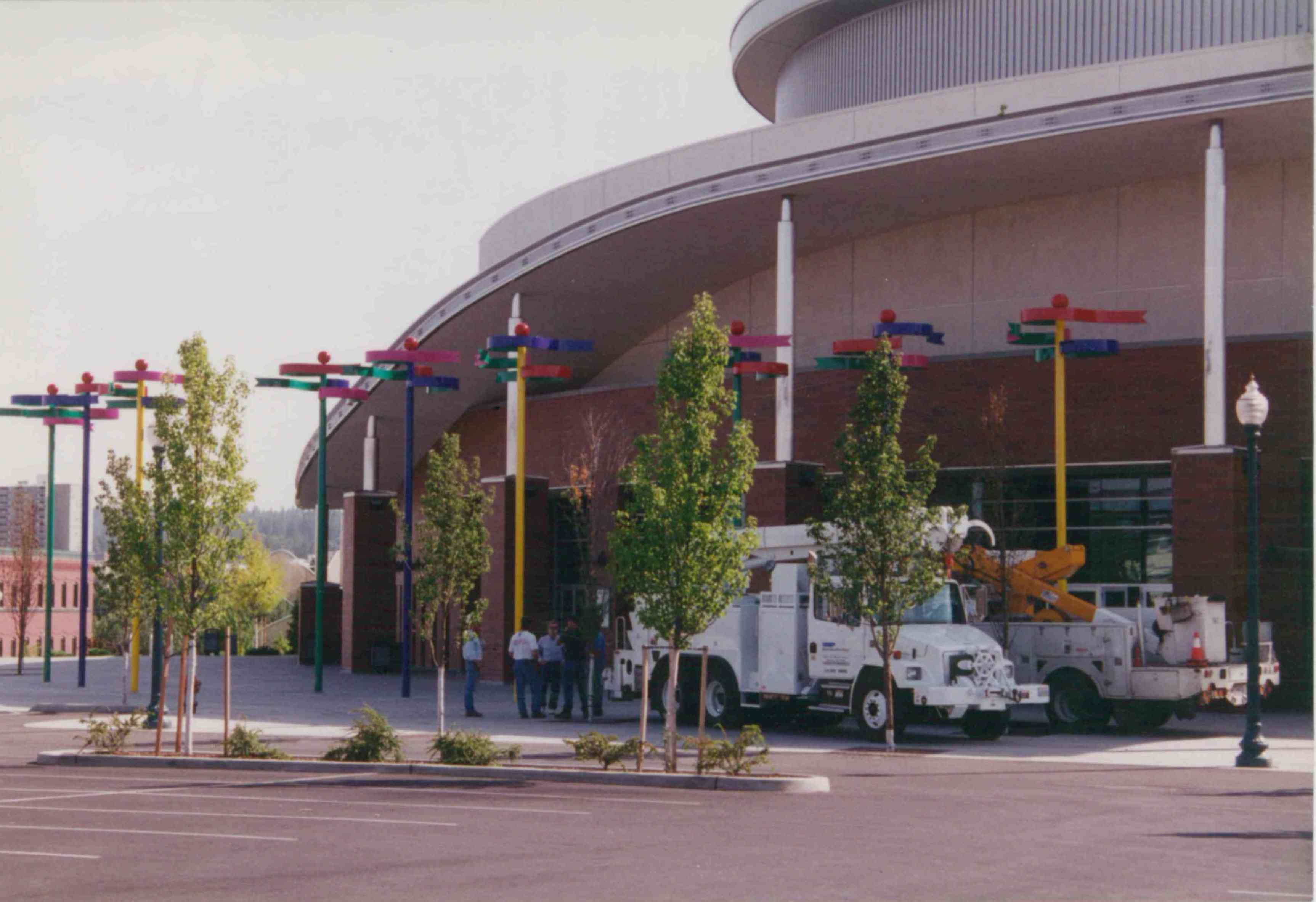 Spokane Arena Flags