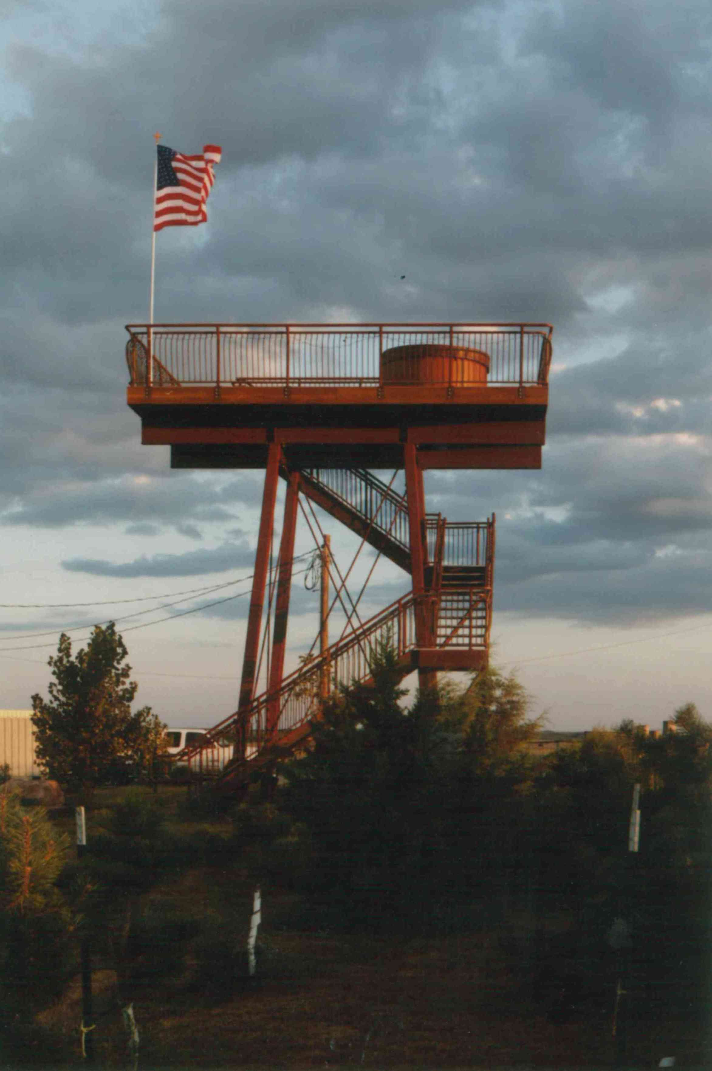 South Dakota Hot Tub Tower